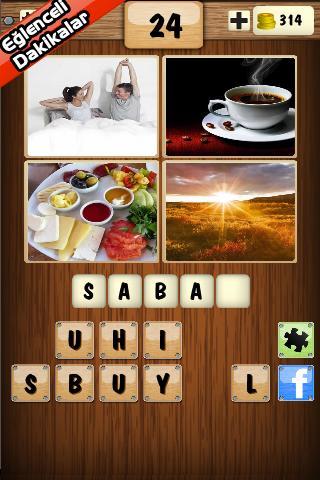 4 Resim 1 Kelime Oyunu Cevapları