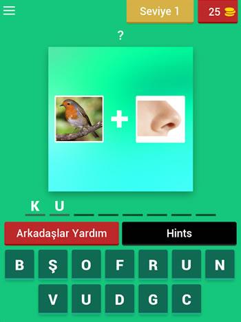 2 Resim 1 Kelime Cevapları