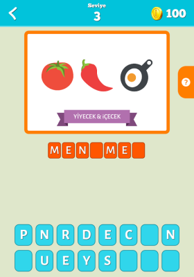 Emoji Bil Oyunu Cevapları