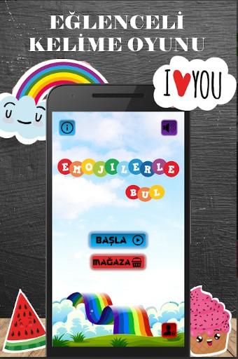 Emojilerle Bul Kelime Oyunu