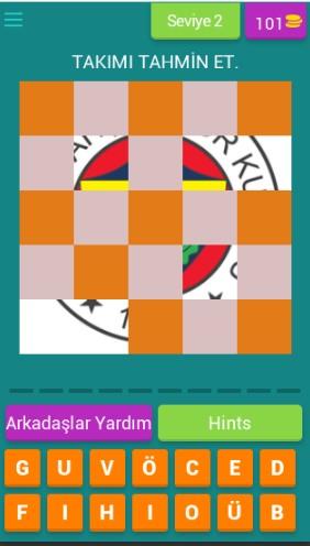 Futbol Logo Oyunu Cevapları 241 260