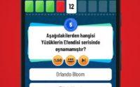 Sinefil Bilgi Yarışması Cevapları 2