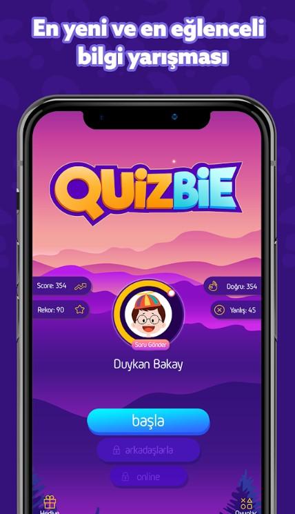 Quizbie Cevapları
