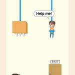 Rescue Cut-Rope Puzzle Cevapları 91-100