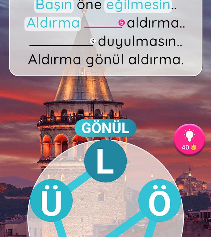 Kelime Gezmece 2 Eski Camii Cevapları